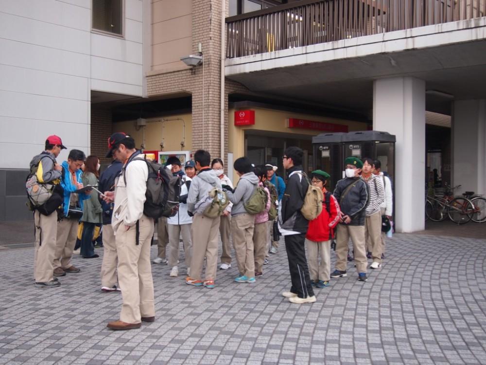 三好ヶ丘駅出発!