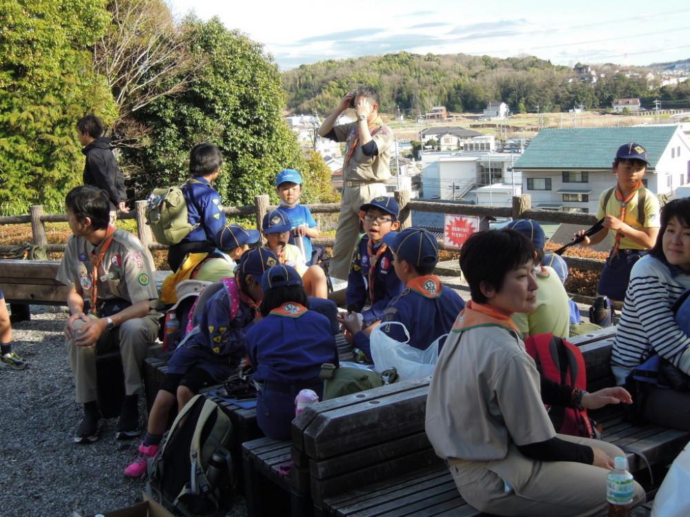 ⑤岩崎城眺めがいいね